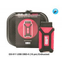 GS-911 USB with OBD-II connector (16 pin) Enthusiast