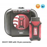 GS-911 WiFi with OBD-II connector (16 pin) Enthusiast